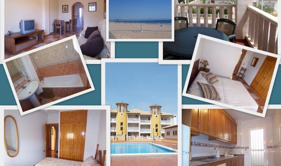 For long-term let: 2 bedroom apartment / flat in La Marina