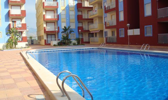 For long-term let: 1 bedroom apartment / flat in Puerto de Mazarrón